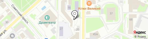 Адвокатский кабинет Аршинова А.Н. на карте Вологды