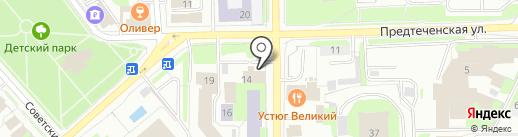 Виксанд на карте Вологды