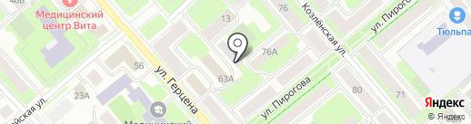 Мультимедиум на карте Вологды