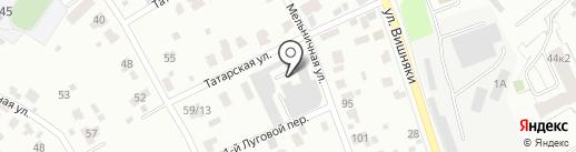 СИНТЕЗ ПРО ЯРОСЛАВЛЬ на карте Ярославля