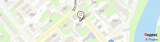 Dividend Express на карте Вологды