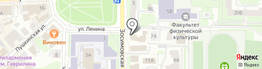 А-Лайн на карте Вологды