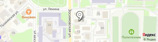 Городская почта на карте Вологды