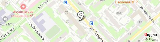 ТД Шекснинский Бройлер на карте Вологды