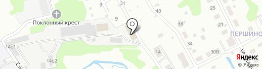 Вирта на карте Ярославля