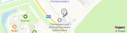 Кама Сервис на карте Кузнечихи