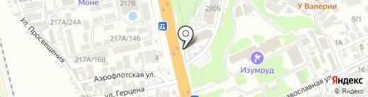 Олеся на карте Сочи
