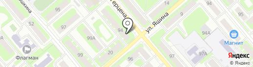 ФОРТУС, ЗАО на карте Вологды