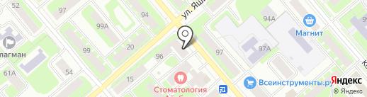 Зона Комфорта на карте Вологды