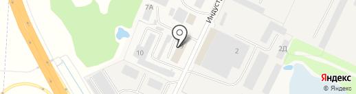 Дека на карте Кузнечихи