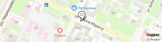 СЭНДВИЧ-СТРОЙ на карте Вологды
