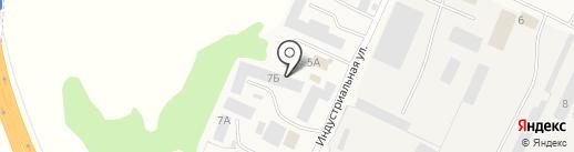Ярстрой на карте Кузнечихи