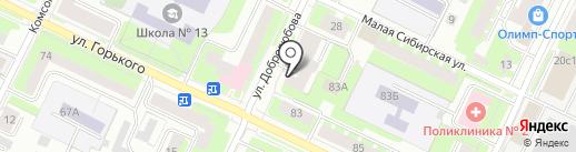 Аллегро на карте Вологды
