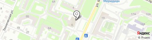 Ремонтная мастерская на карте Вологды