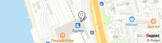Kaza на карте Сочи