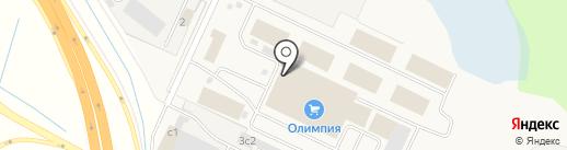 Медиан на карте Кузнечихи