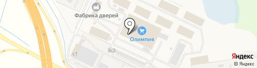 Магазин крепежа и инструментов на карте Кузнечихи