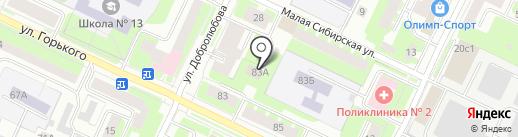Вологодская региональная лаборатория СевНИИЛХ, ФГУ на карте Вологды