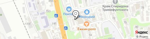 Квант-Сочи на карте Сочи