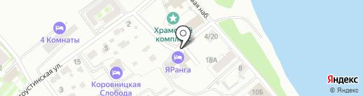 НПО Декарт на карте Ярославля