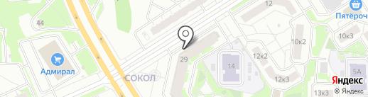 Арена Тренд на карте Ярославля