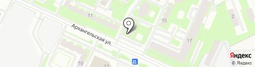 Магура на карте Вологды