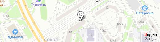 Аква на карте Ярославля