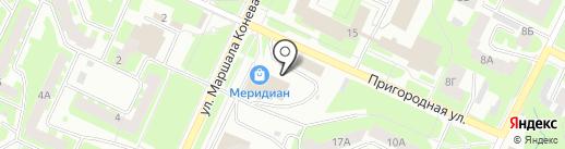 Большая Медведица на карте Вологды