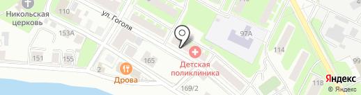 Jiraffe на карте Вологды