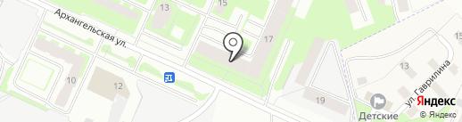 ВИЛЛИ на карте Вологды
