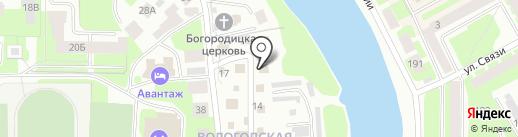 ВолСептик на карте Вологды