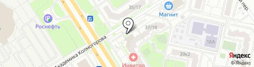 Ломбард Народный на карте Ярославля
