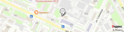 СтальЭнерго на карте Вологды
