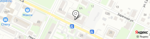 Салон текстильного дизайна и корпусной мебели на карте Вологды