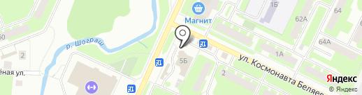 Foxtron на карте Вологды