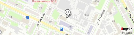 ПочиникА на карте Вологды