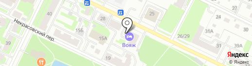 Online на карте Вологды