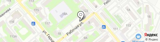 Кладъовка на карте Вологды