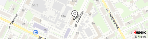 Бухгалтер и Я на карте Вологды