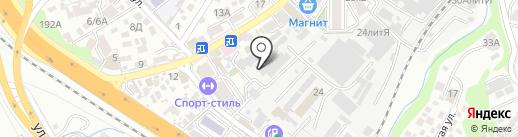 Репников и партнеры на карте Сочи