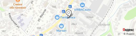 РАпиРА на карте Сочи