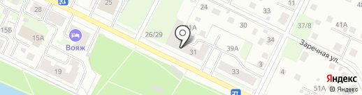 УПарка на карте Вологды