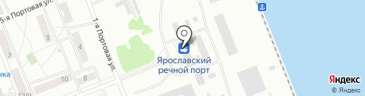 Северсталь-Дистрибуция на карте Ярославля
