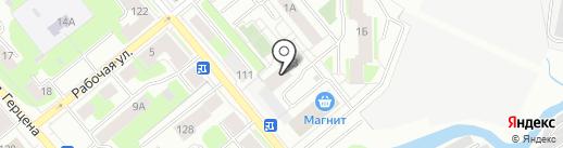 Железобетон-12 на карте Вологды