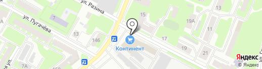 Гармония-М на карте Вологды