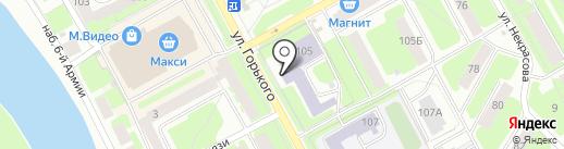 Вологодский областной колледж искусств на карте Вологды
