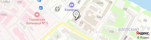 Отдел МВД России по Вологодскому муниципальному району на карте Вологды