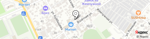 Gordeev Guest House на карте Сочи