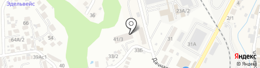 ИНТЕГРА на карте Сочи