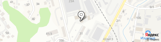 Деловые Линии на карте Сочи